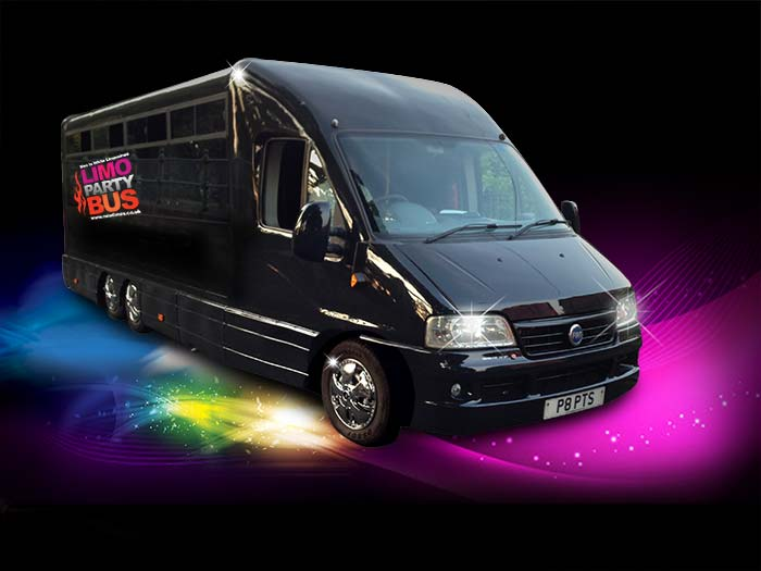 16 seater Limo party bus York