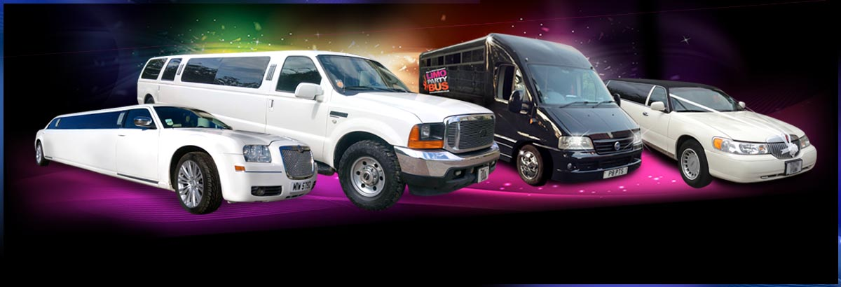 Limo hire York, all limousines, hummers and party bus