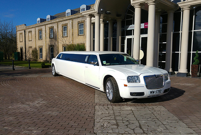 chrysler stretch limo hire in Bridlington