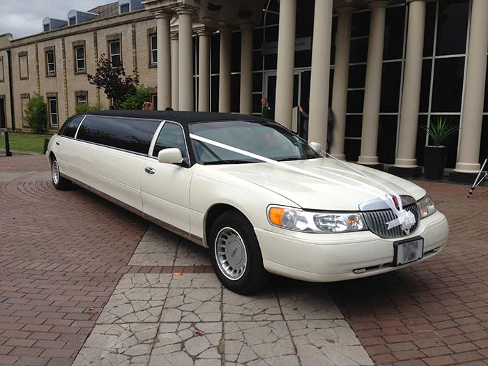 wave wedding limo