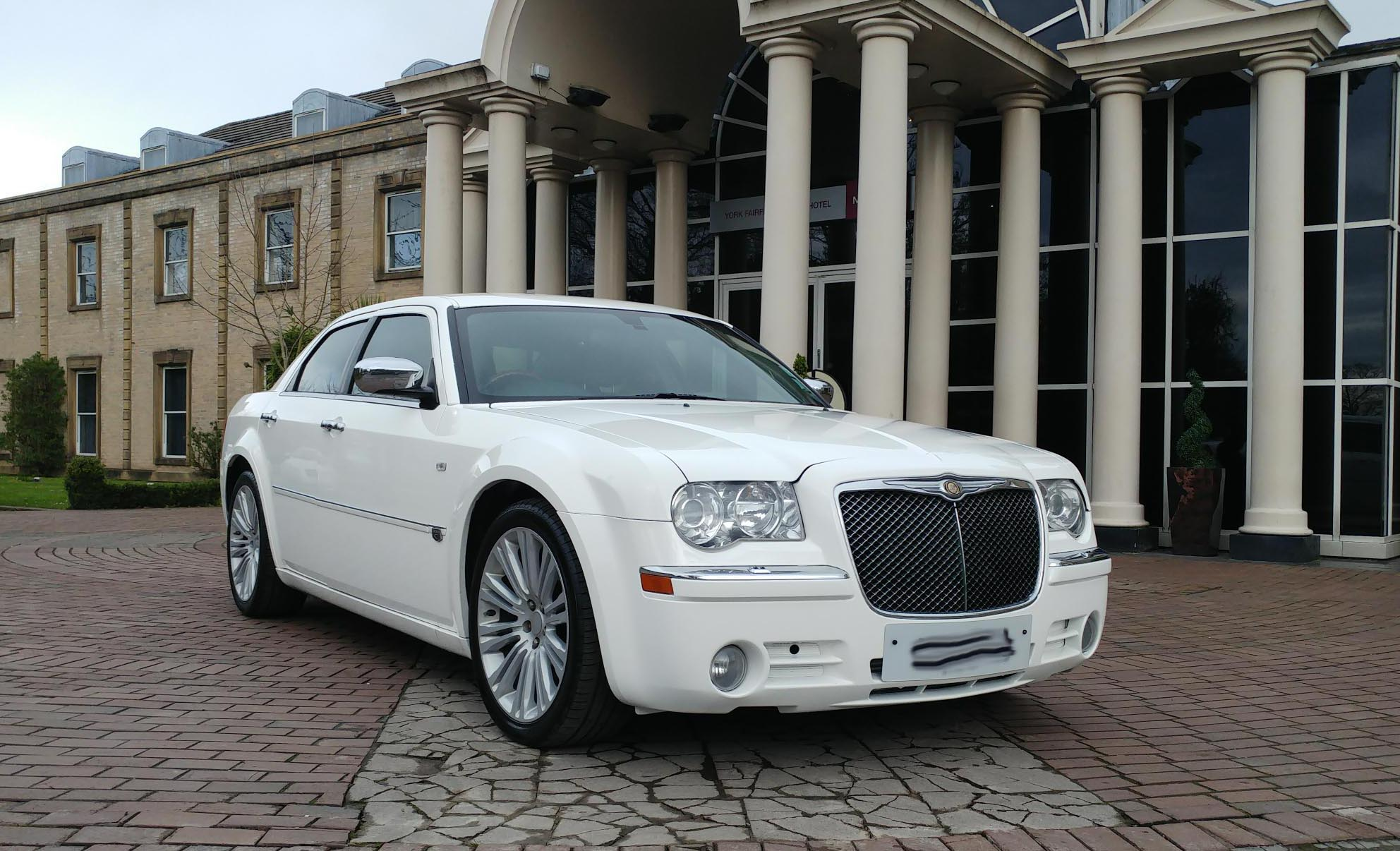 prestige chrysler c300 baby bentley hire for weddings Proms