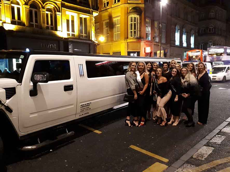 hummer limo hire night out york